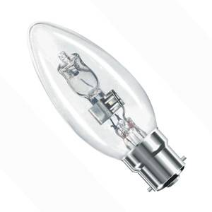 Halogen Energy Saver Candle Bulb