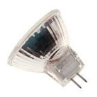 Twin Pack -12v 20w GU4 35mm 26 Degree Dichroic Covered Glass - M221 - 44890WFL - FTD - 12302